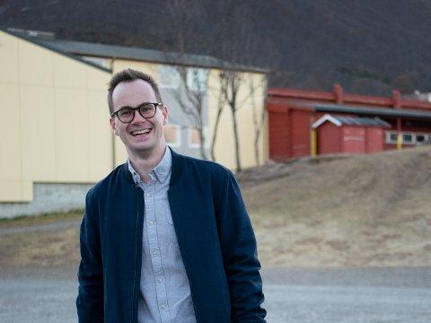GJENVALGT: Jonas Nilsen skal jobbe for natyr, dyr og folk i Tromsø.