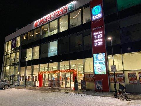 TILTALT: Det var inne på Eurospar Kræmer mannen truet en ansatt.