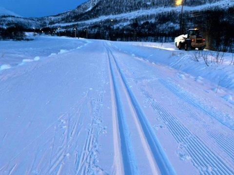 INNBYDENDE: Mange farter til Kvaløysletta -løypene.
