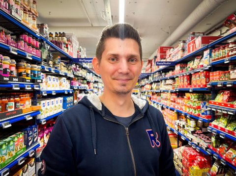 SPENT: Mats Bergvoll (32) tar snart over sentrumsbutikken i Tromsø.