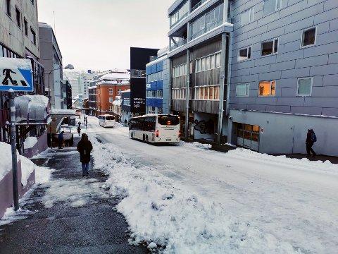 TROMSØ: Enn så lenge går busstrafikken i Tromsø som normalt.
