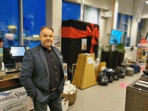 SJEF: Karl Johan Brekmo og butikken Nordicspas har gjort det meget bra de siste årene, og spesielt i 2020.