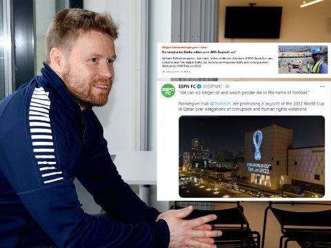 REAKSJONER: Tom Høgli er veldig fornøyd med responsen på TILs boikott.