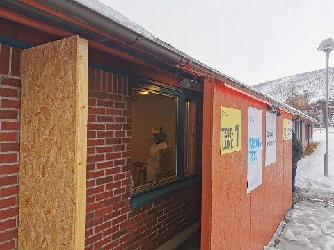 NYTT TILBUD: Kommunen åpner en ny luke på koronatest-senteret i Kroken.