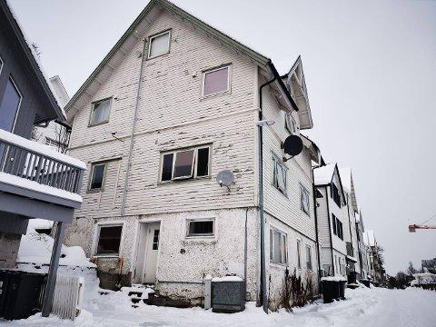 FANT MANGLER: Huset i Dr. Lies gate eies av Bramy eiendom - selskapet til varaordfører Marlene Bråthen og hennes samboer.