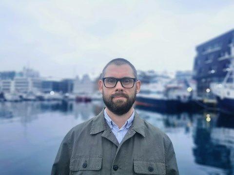 LEGEVAKTEN: Stian Fet og legevakten i Tromsø opplevde masse henvendelser som følge av Astrazeneca-usikkerheten.