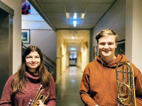 ENDRES: Både Miriam Angelsen(17) og Håkon Rasmussen(16) mener at navnet bør endres.
