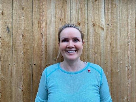 DRØMMEJOBB: Ann-Trude Notø forteller at hun er svært glad i jobben sin.