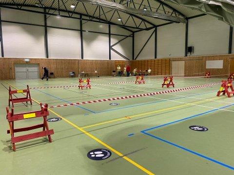 TOMT: Teststasjonen i Breivika skal ha åpent til og med tirsdag. Den var opprinnelig tenkt avviklet etter dagen i dag. Foto: Privat