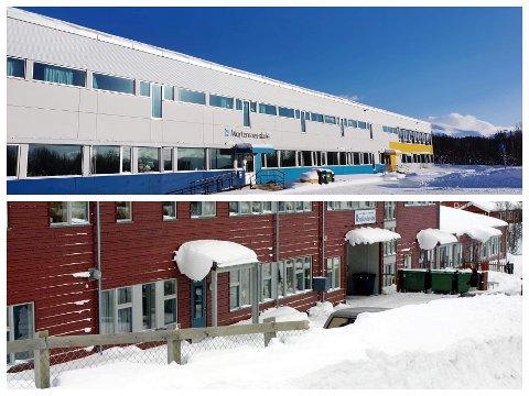 STENGT: Både Mortensnes og Stakkevollan skole har gått over til digital undervisning denne uka.