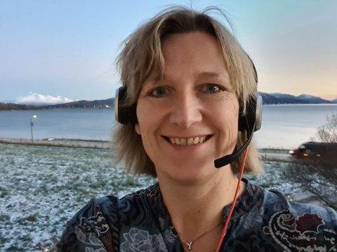 SYKEPLEIER: Lena Rødsæg Olsen er selv sykepleier. Siden i fjor høst har hun vært leder av et sammenslått sykepleierforbund for Troms og Finnmark.