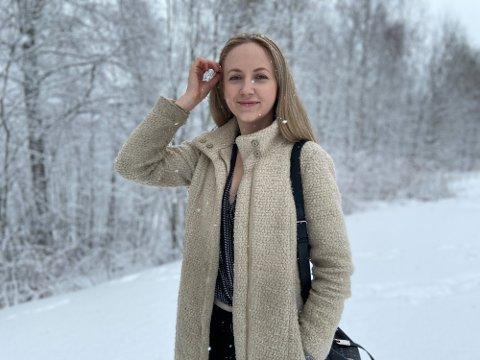 FØLGER DRØMMEN: UiT-student Jane Victoria har sin siste mulighet til å bli Miss Norway-vinner. Hun har bestemt seg for å gi alt.