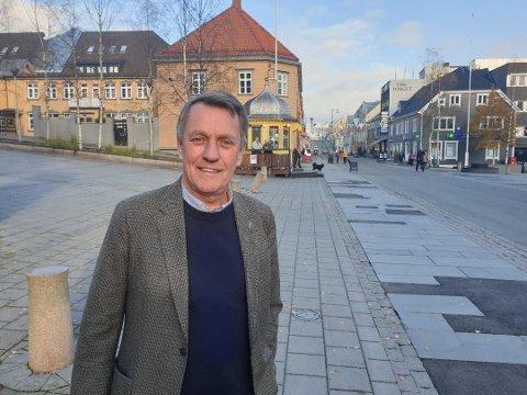 FORNØYD: Gunnar Wilhelmsen er fornøyd etter torsdagens møte.