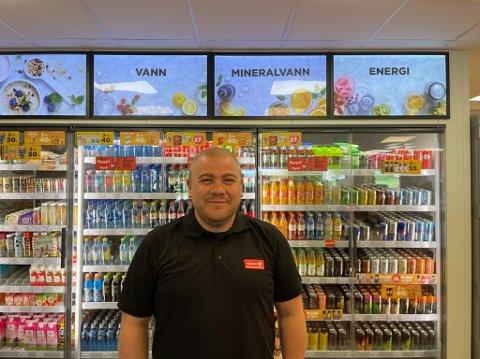 NYBAKT FAR: André Jokbsen Svavik slutter som daglig leder hos Circle K Holtandalen.
