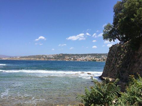 POP: Chania på Kreta er blant landets mest populære reisemål. Men det er ikke så lett å komme seg dit.