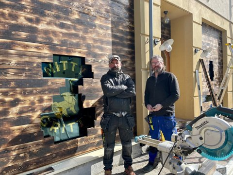 FORNØYD: Peter Westh Hammer og Pål Einar Eilertsen var meget fornøyd med resultatet av egen innsats. Tromsø kommune er ikke like fornøyd.