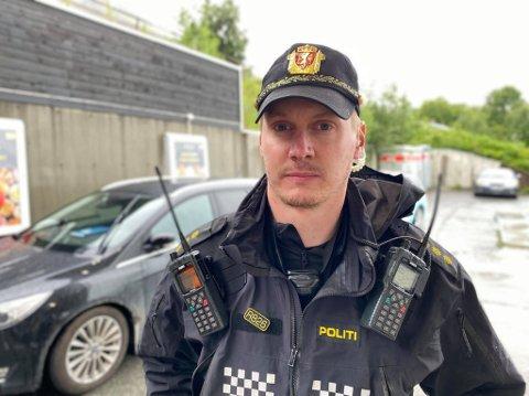 Politibetjent Vegard Nilsen