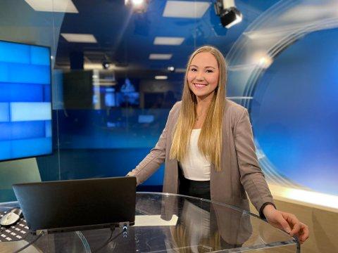 FRA NORDNYTT TIL SPORTSNYHETENE: Oda Viken har høstet erfaring som programleder i NRKs Nordnytt-sendinger. Det kommer godt med i hennes nye jobb i sportsnyhetene i TV 2.