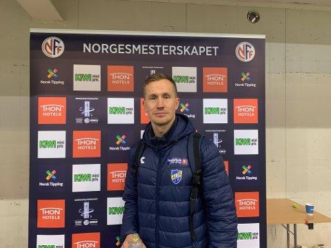 KLAR FOR TREDJE RUNDE: Morten Gamst Pedersen og Alta IF kunne juble for cupavansement, på bekostning av Tromsø IL.