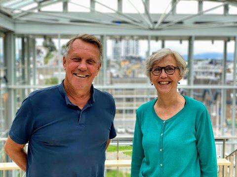 BÆREKRAFTIG OMSTILLING: Gunnar Wilhelmsen og Kirsti Methi sier Tromsø har som arktisk hovedstad et overordnet mål å være pådriver for bærekraftig samfunnsutvikling i Arktis.