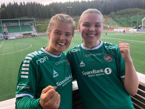 Mali Trøan og Christine Bergvoll i Fløya.