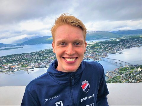 HJEMMEFAVORITT: Andreas Leknessund gleder seg til å komme i gang med rittet på hjemmebane.