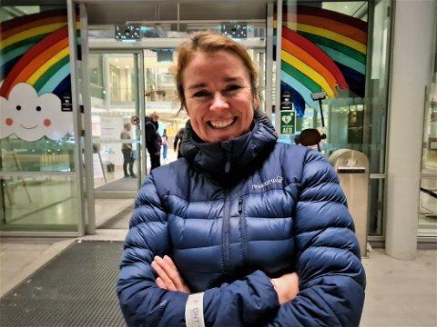 RAKK DET: Oddrun Johansen rakk å stemme med få minutters margin.