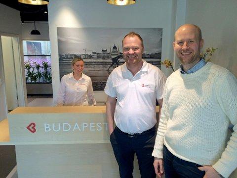 Gründere: Morten Leivseth (t.h.) og Andreas Breisjøberg er begge spesialsykepleiere. De grunnla Budapest klinikken i 2010