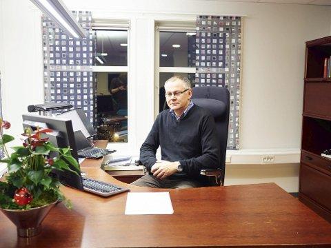 Ordknapp: Daglig leder ved LKAB Narvik, Jacob Steinmo, bekrefter at LKAB ønsker å få andre til å overta driften av slepebåtene allerede for jul.