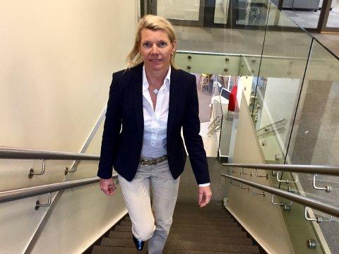 Konserndirektør for bedriftsmarkedet i DNB, Kjerstin Braathen