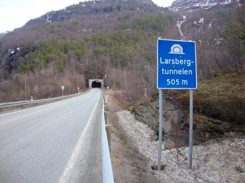 Larsbergtunnelen skal utbedres.