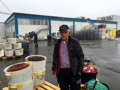 Erling Robertsen, daglig leder ved Norway Seafood avdeling Tromvik.