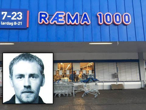 - IKKE SÅ KULT: Kjøpmann Vegar Norheim (innfelt) på Rema 1000 på Storsteinnes: - Vi må lese at våre venner og bekjente kaster dritt om oss på nettet.