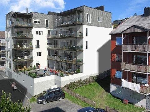 Boligprosjektet D17 i Narvik