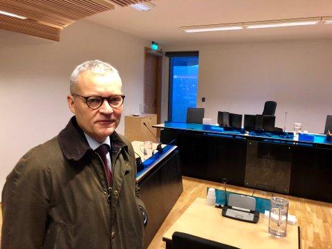 BOSTYRER: Jan Hallstein Haugnes er bostyrer for konkursen i Nordnorsk Maler AS.