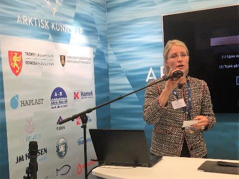 Sigrid Ina Simonsen fylkesråd for kultur og næring i Troms
