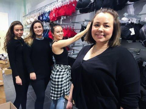 BH-BUTIKKEN: Tidligere butikksjef Pernille Kveseth i «Underverker» da den åpnet på Jekta i desember. Nå har nettbutikken stengt de fysiske dørene.