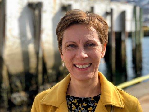 GODE TALL: Grete Kristoffersen, direktør NAV Troms og Finnmark..