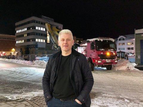 UTLEIER: Eirik Espejord i Pellerin sier de foreløpig ikke har tatt stilling til hvordan de vil håndtere et større antall leietakere i betalingstrøbbel.