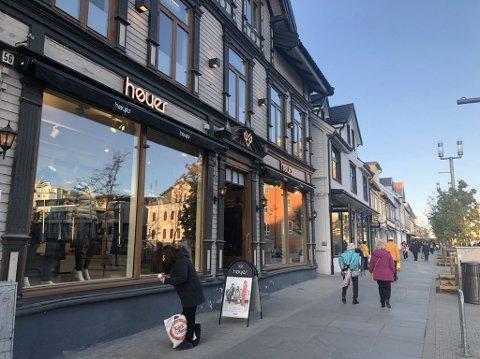 SKAL UT: I dag holder Høyer til i Storgata 56 - neste år blir det en ny destinasjonsbutikk der.