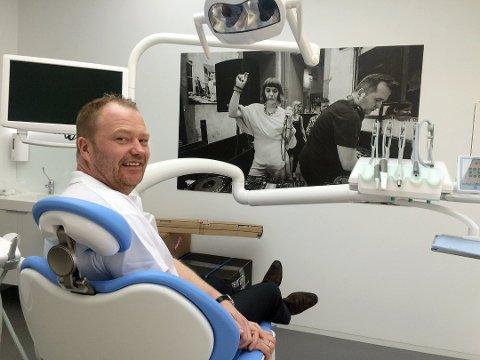 TANNGRÜNDER: Morten Leivseth er tanngründeren bak Budapest klinikken. Nå er han fjernet som daglig leder i selskapet.