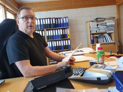 HAR TIL SALT I MATEN: Jan Blomseth driver Effektiv Regnskapsservice AS. Etter at han brøt ut av Frp og trappet ned politikken har både han og selskapet tjent gode penger.  Foto: Øystein Barth-Heyerdahl