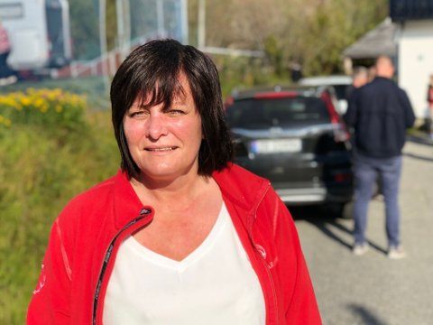 NEI: -Nei, sier Rita Karlsen, administrerende direktør og stor eier i Brødrene Karlsen-konsernet. - For sjømatnæringen på Senja sin del, så betyr ikke en jernbane nordover noe