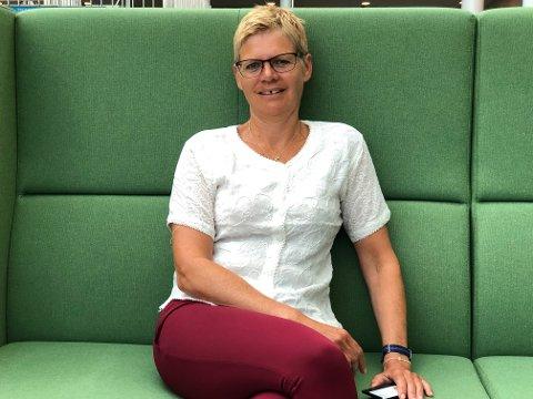 VITNET: Britt Elin Steinveg var øverste leder i Tromsø kommune da Arne Kjell Johansen ble avskjediget. Torsdag vitnet hun i rettssaken, men det ble vanskelig å opplyse saken, ifølge Steinveg.