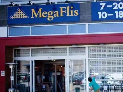 VIL TIL TROMSØ: Megaflis har i dag sin nordligste butikk i Trondheim. Men de vil til Tromsø.