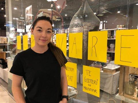 LEGGER NED: Søstrene Grene på Amfi Steinkjer legger ned butikken fra årsskiftet.