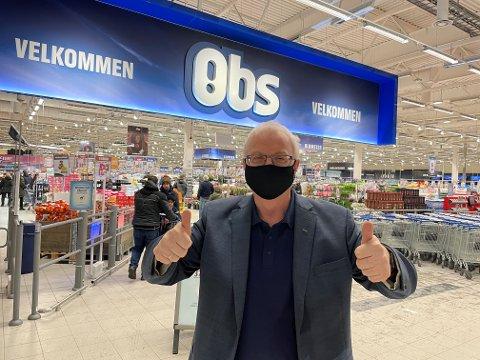 REKORD: Etter et koronapreget handelsår kan en tidsriktig antrukket Coop-sjef Torbjørn Skei betale mer enn en kvart milliard i utbytte til 248.000 samvirkemedlemmer i Midt-Norge.