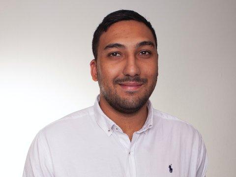 SELGERTALENT: Mohammad Khojasteh fra Raufoss.