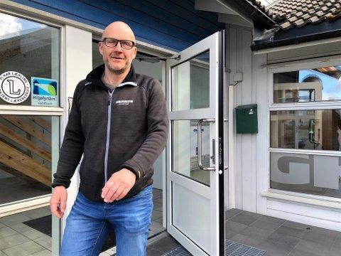 SER FREMOVER: Daglig leder Morten Hynne i Grande Entreprenør er glad for at de nå kan vise ny eier stabil drift etter to år med negativt årsresultat.