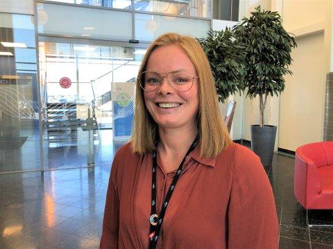NY LEDER: Nina Camilla Arnesen tar over som leder for hele kundeservice og kundedialog i NTE etter Ingvild Øfsti. Hun startet i jobben 1. juni.